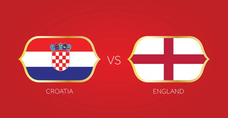 England vs Croatia - World Cup Semi FInal