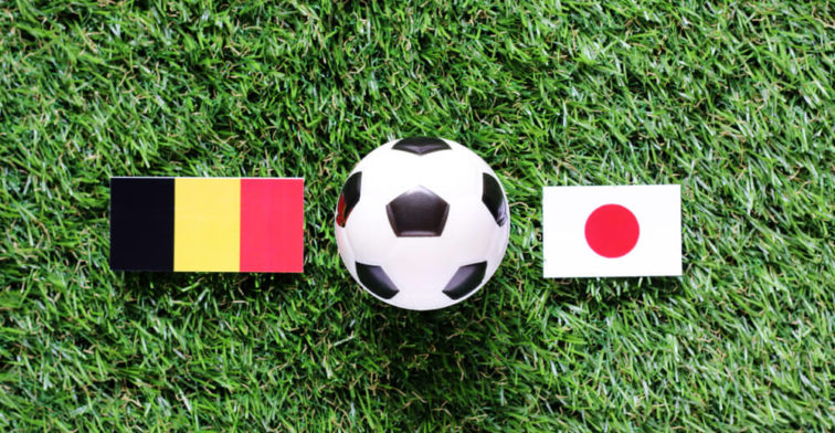 Belgium Attempt To Put On A Show Against Japan